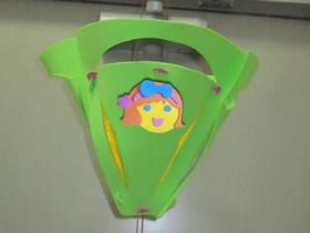 怎么用泡沫纸做三角形新年灯笼的制作方法