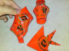怎么做新年红包灯笼小鱼挂饰的制作方法