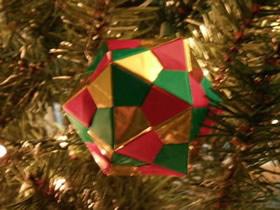 怎么手工折纸二十面体的折法详细图解步骤