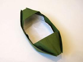 怎么折纸乌篷船的折法详细步骤过程图解