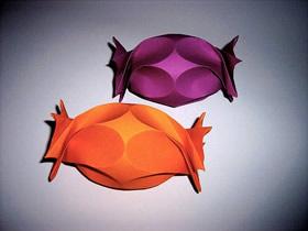 怎么折纸复活节彩蛋糖果盒的折法带图纸