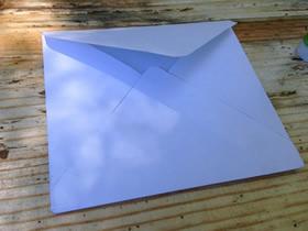 怎么简单折纸正方形信封的折法图解教程