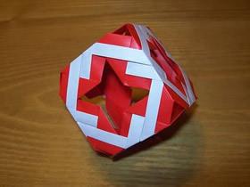 怎么折纸镂空立方体的折法图解详细步骤