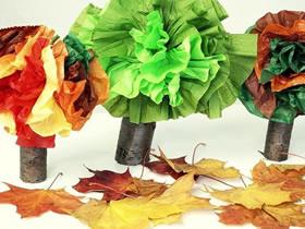 怎么废物利用做大树的手工制作教程