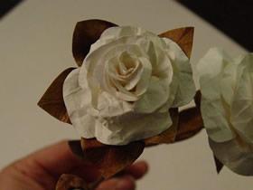 简单又逼真纸花怎么做的手工制作图解教程
