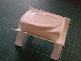 怎么用洗洁精瓶子做香皂盒的制作方法