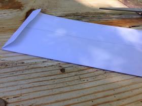 怎么折纸长方形信封的最简单折法图解