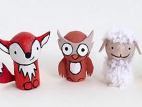 怎么用红酒瓶塞做迷你动物玩偶的制作方法