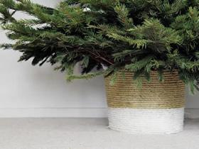 怎么用麻绳做漂亮花盆套的制作方法教程