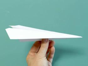怎么折纸最快纸飞机的详细折法步骤图解