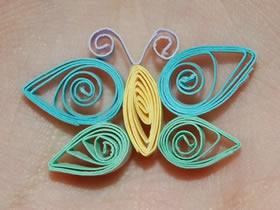 怎么做最简单衍纸蝴蝶的制作方法步骤图解