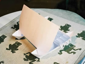 怎么折纸双体帆船的折叠方法图解带图纸