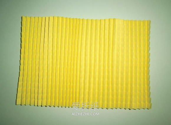 怎么折纸复杂立体玉米的折法步骤图解- www.aizhezhi.com