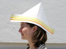 怎么折纸帽子的折法图解简单又漂亮
