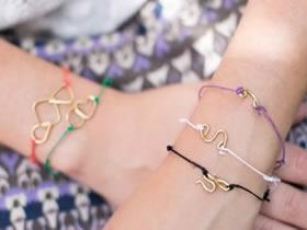 怎么做送女友的金属丝手链制作方法最简单
