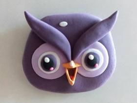 怎么做漂亮粘土猫头鹰的制作方法步骤图
