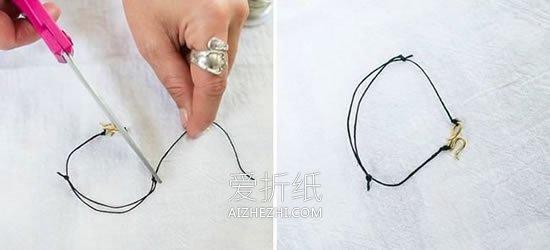 怎么做送女友的金属丝手链制作方法最简单- www.aizhezhi.com