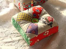 怎么做不织布针插的制作方法图解简单又漂亮