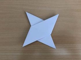 怎么折四角飞镖的折法图解教程