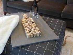 怎么用软木塞做父亲节/生日礼物的制作方法