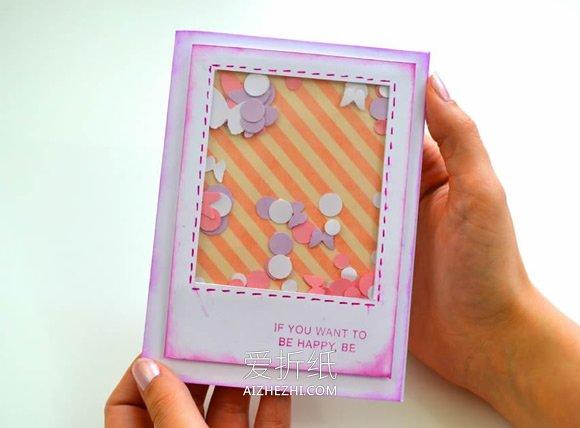 小学生做的新年贺卡_怎么做创意感恩卡/生日贺卡的制作方法图解_爱折纸网
