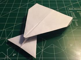 怎么折纸又快又稳又远纸飞机的折法图解