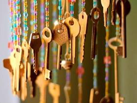 怎么用旧钥匙做串珠风铃的制作方法简单漂亮