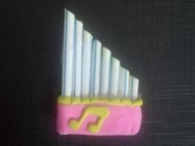 吸管手工制作口风琴的方法