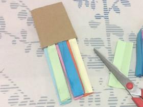 怎么用纸做简易书签的手工制作方法