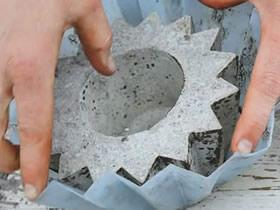 怎么简单做水泥花盆的制作方法教程