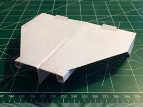 喷气飞机的折法图解