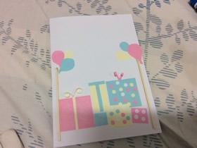 怎么做生日贺卡的制作方法 满满都是礼物!