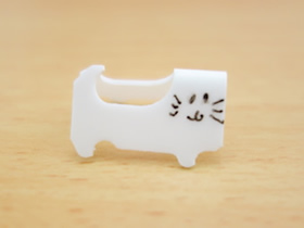 怎么用面包袋口夹做猫咪的手工制作方法