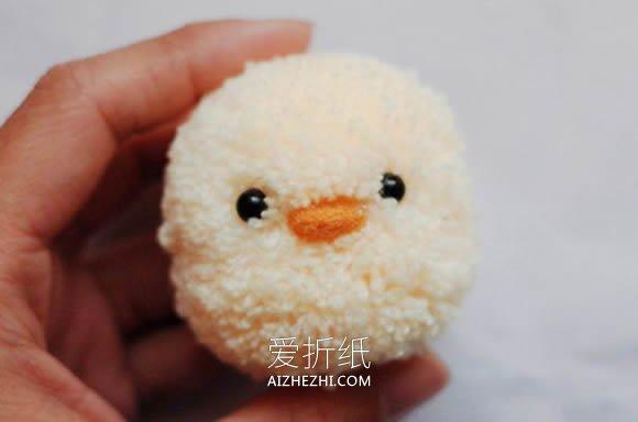 怎么用毛线做小黄鸭的手工制作方法教程- www.aizhezhi.com