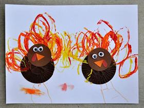 感恩节怎么做火鸡贺卡的手工制作方法
