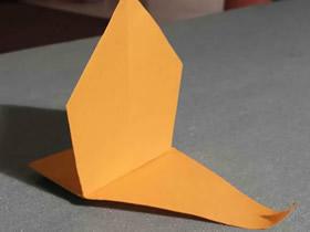 怎么简单折纸帆船的折法图解