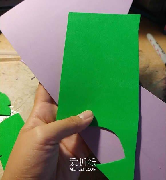 怎么用泡沫纸做生日花朵贺卡的制作方法- www.aizhezhi.com