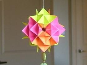 新年纸灯笼的折法图解