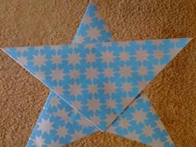 纸五角星的做法
