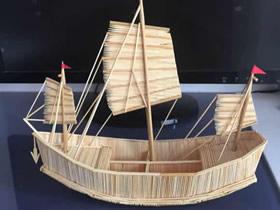 帆船模型的制作方法