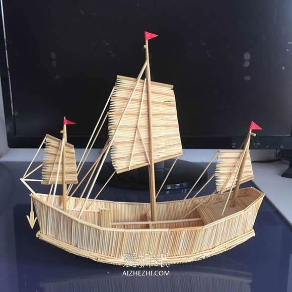 帆船模型的制作方法- www.aizhezhi.com