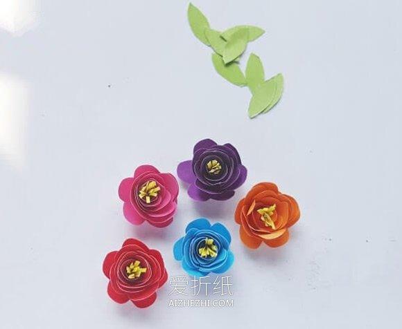 自制立体花朵感恩卡片的方法- www.aizhezhi.com