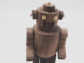 木头机器人的制作方法