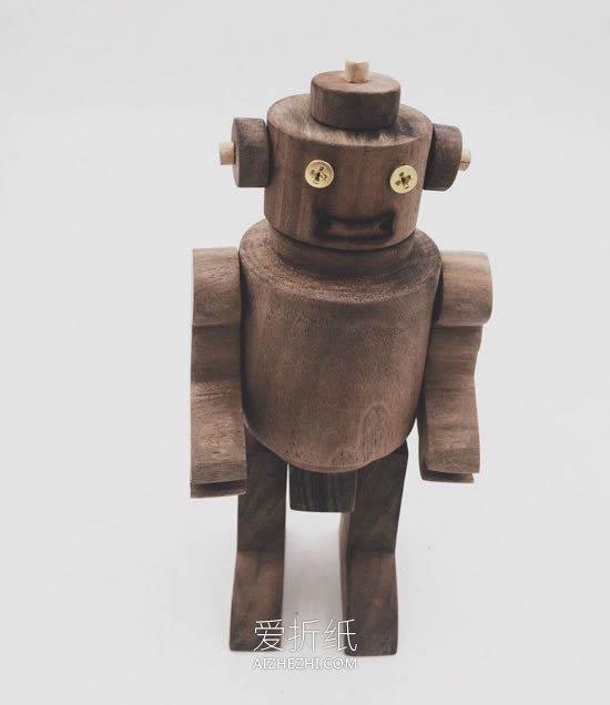 木头机器人的制作方法- www.aizhezhi.com