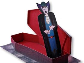 万圣节吸血鬼玩具制作方法