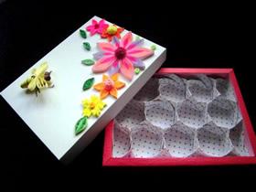 漂亮蜂巢盒的制作方法图解