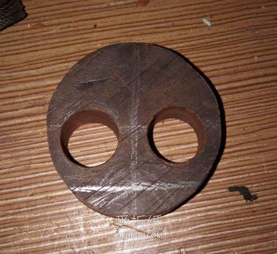 眼珠可以转动的猫咪挂件制作方法- www.aizhezhi.com