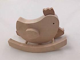 用木头制作小鸟摆件的方法