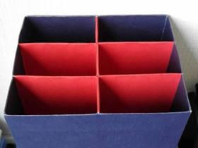 月饼盒改造储物盒的方法