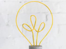 灯泡摆件-创意教师节礼物的制作方法